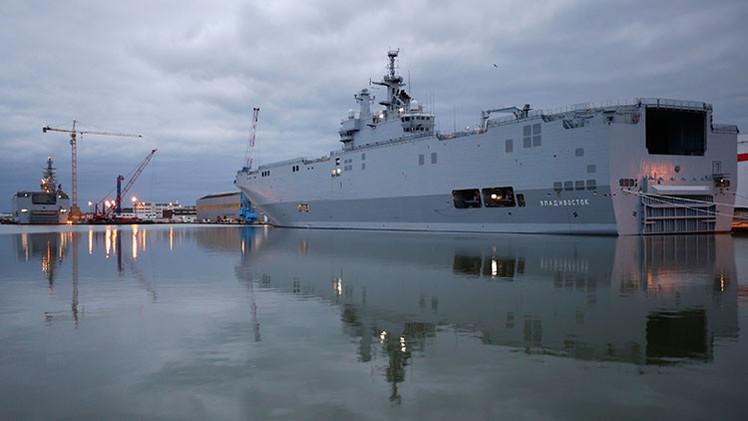Francia podría entregar el primer Mistral a Rusia en los próximos días