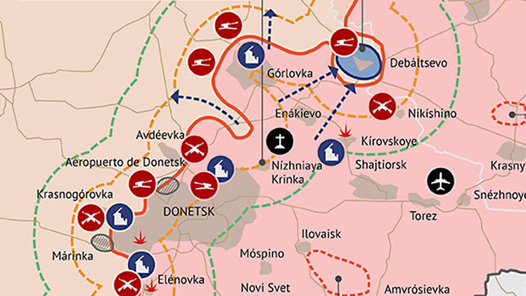Infografía: Cómo queda el este de Ucrania después del acuerdo de Minsk