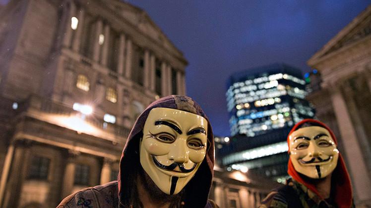 """Anonymous llama a levantarse contra la """"élite"""" que encubre el abuso infantil"""