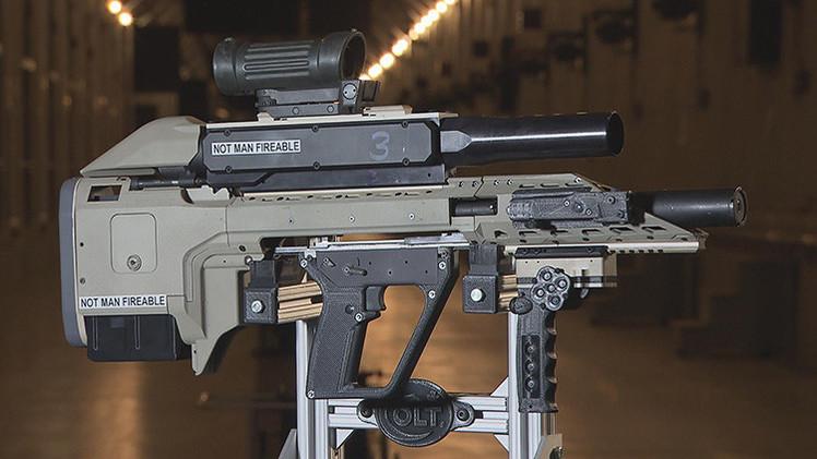 Video: Canadá presenta un fusil de asalto inteligente