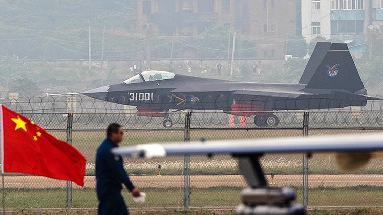 A J-31 stealth fighter