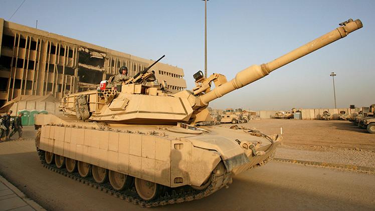 """Pentágono: """"Tanques de EE.UU. podrían haber caído en manos del Estado Islámico"""""""