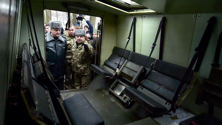 Reino Unido confirma la entrega de vehículos blindados al Ejército ucraniano