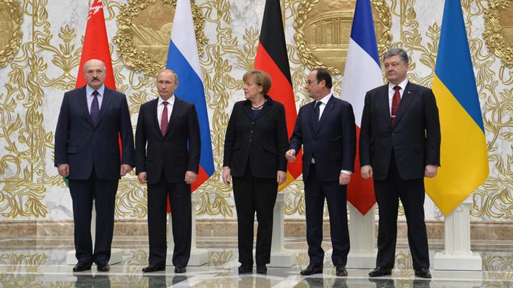 ¿Qué  cualidades de Putin, Merkel y Hollande ayudaron a consensuar el acuerdo de Minsk?