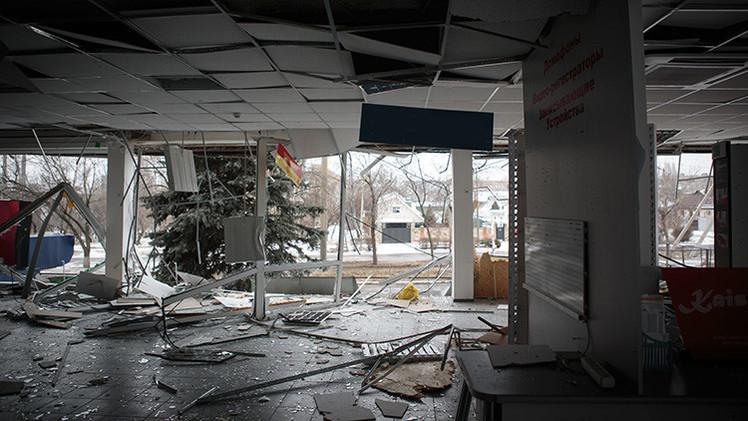 """Gorlovka, la 'ciudad fantasma' de Ucrania: """"Cosemos a los heridos con hilo de pescar"""""""