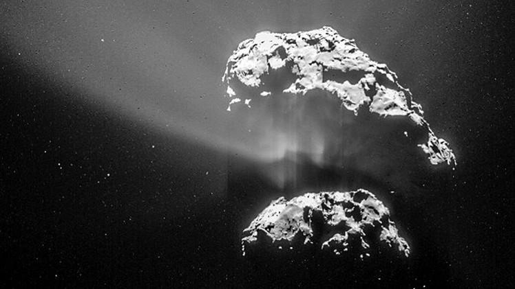 Rosetta se acerca al cometa 67P a una distancia récord para tomar fotos jamás vistas