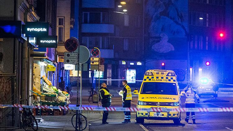 Perturbador audio del momento en que inicia el ataque en Copenhague