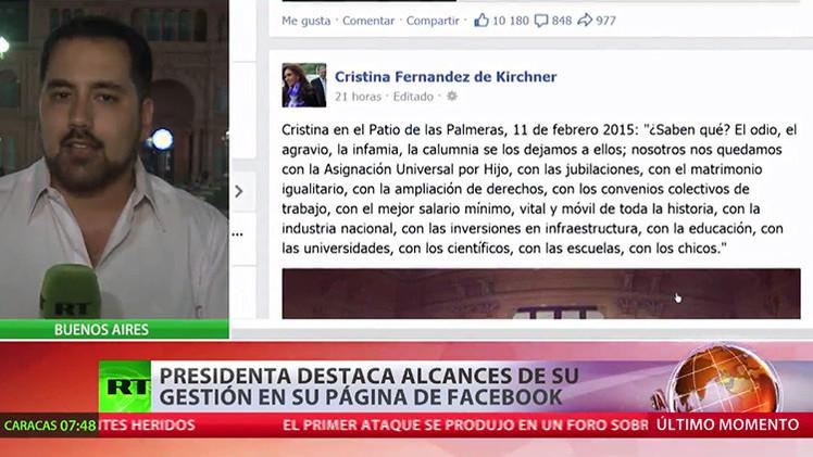 Cristina Kirchner rechaza las sospechas por supuesto encubrimiento en el caso AMIA