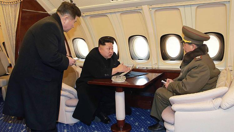 Fotos: El vuelo de Kim Jong-un sobre el 'Silicon Valley norcoreano'