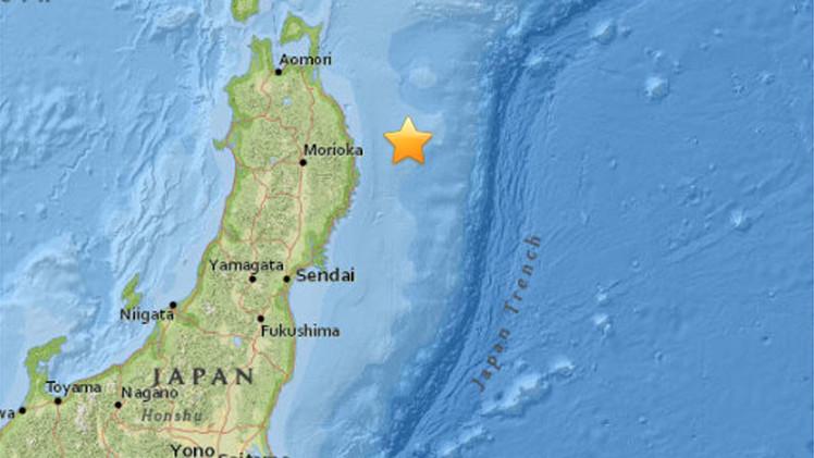 Un terremoto de magnitud 6,7 sacude las costas de Japón