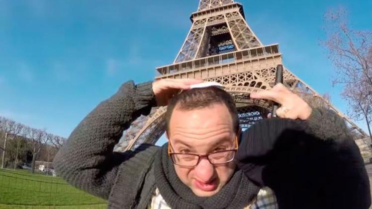 Video: 10 horas de sufrimiento de un periodista judío en las calles de París