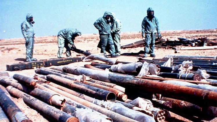 Revelan que la CIA compró armas químicas en Irak