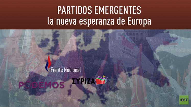 Redibujar el mapa político de Europa: el golpe de los partidos emergentes en 'Tema abierto' en RT