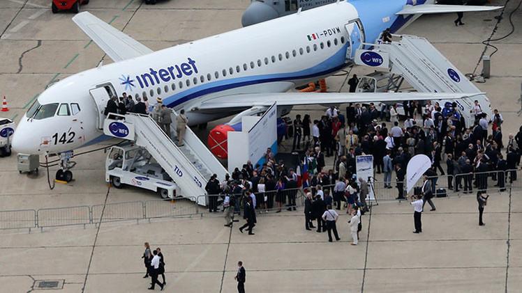 """Aerolínea mexicana Interjet: """"El avión ruso SSJ-100 es el mejor de su clase"""""""