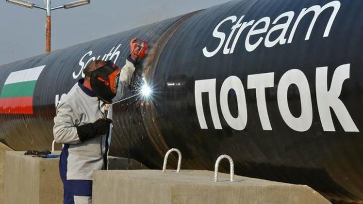 """Putin: """"El South Stream es imposible en su forma inicial"""""""
