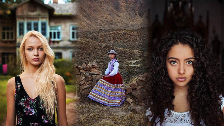 Fotografías de mujeres de 37 países demuestran que la belleza está en todas partes