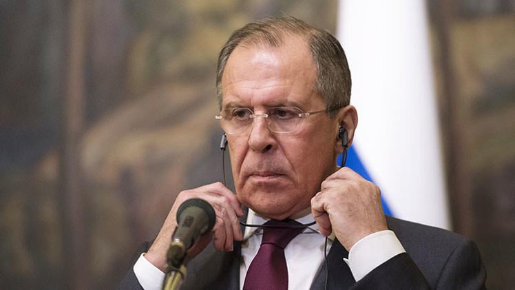 """Lavrov: """"Esperamos que la vanidad de Kiev no prevalezca sobre el deseo de salvar vidas"""""""