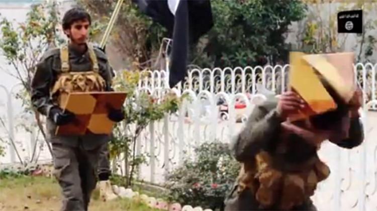 Un vídeo del Estado Islámico revela las técnicas de entrenamiento de sus guerrilleros