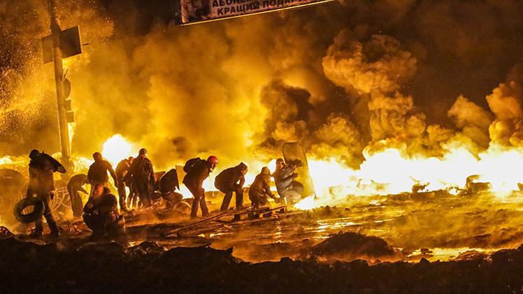 Un año después de la tragedia: las 10 fotos más dramáticas del Maidán