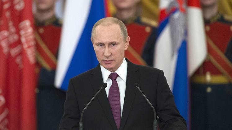 """Putin: """"Rusia siempre tendrá una respuesta adecuada a cualquier presión exterior"""""""