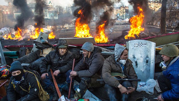 """""""Euromaidán ha pasado de ser un niño a un monstruo"""""""