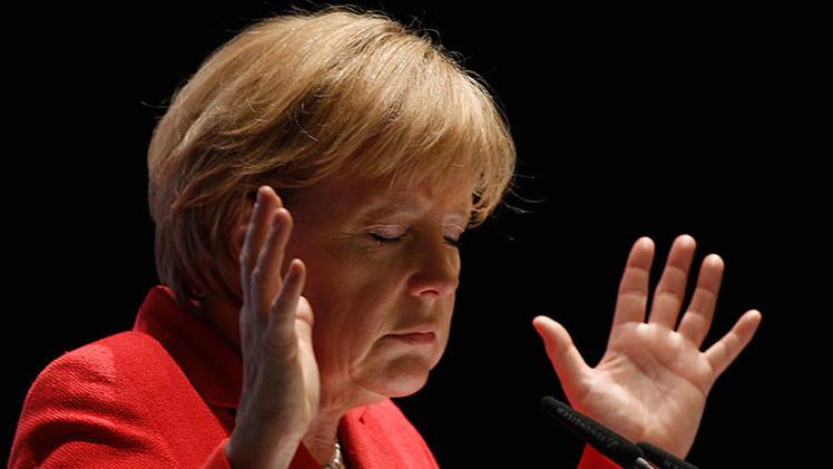 """""""El desorden y la miopía política es el estilo particular de Angela Merkel"""""""