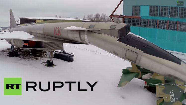 Vídeo: Conozca el bombardero estratégico con el techo de tres veces mayor del Everest