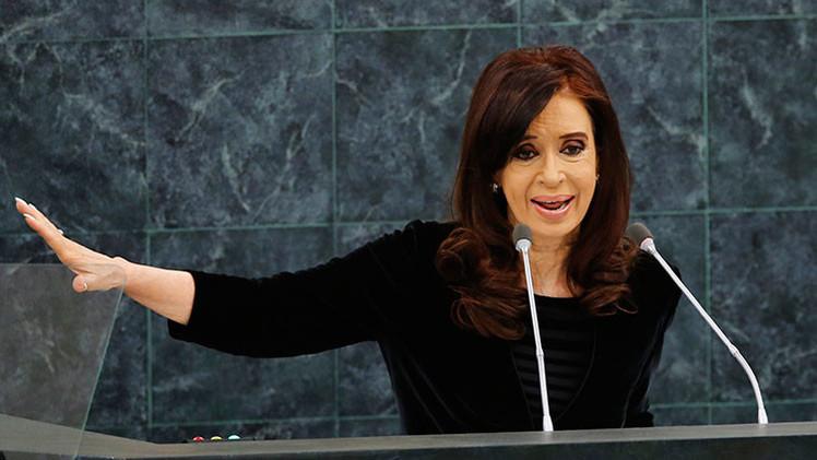"""Cristina Fernández de Kirchner: """"El 18F fue una marcha opositora"""""""