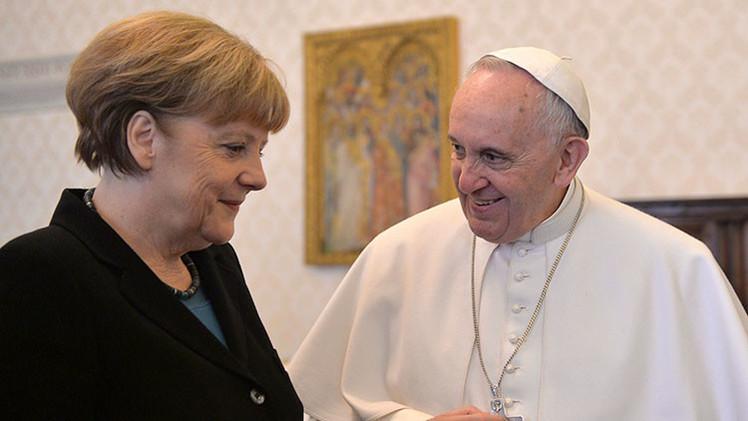 """Francisco a Merkel: """"Hay que proteger a los pobres"""""""