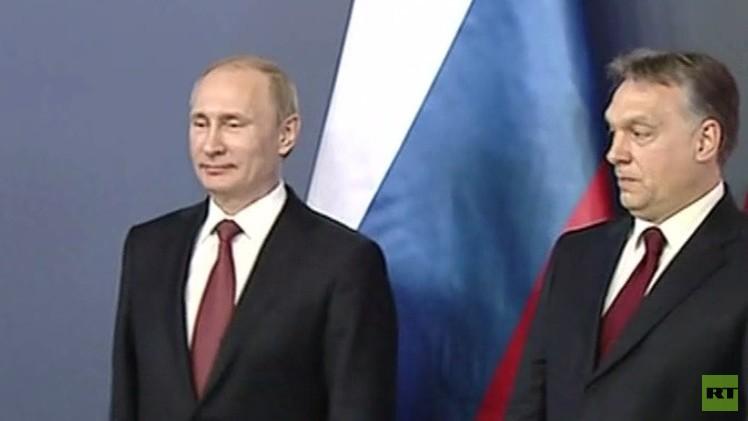 Moscú y Budapest acuerdan garantizar el suministro de gas a la nación húngara