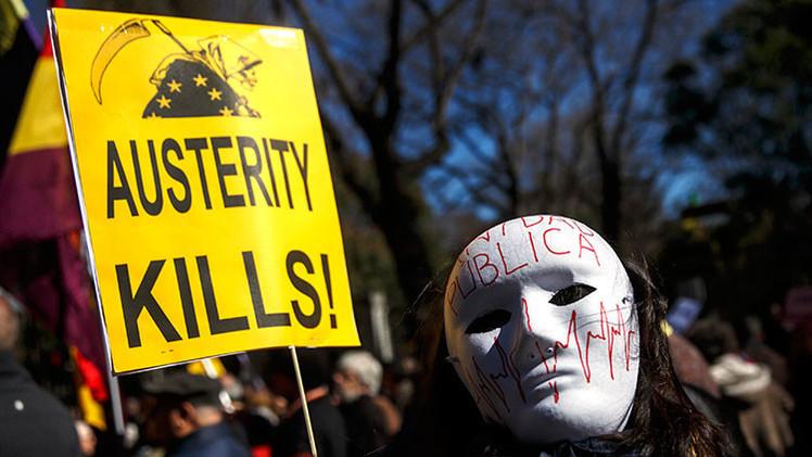 Los españoles vuelven a las calles para protestar contra el 'austericidio'