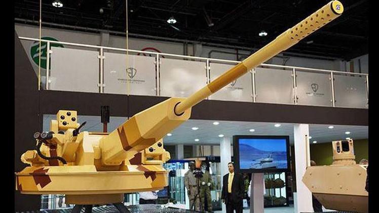 """'Arma del futuro': cañón automático ruso """"triunfa"""" en el salón de armas de Abu Dabi"""