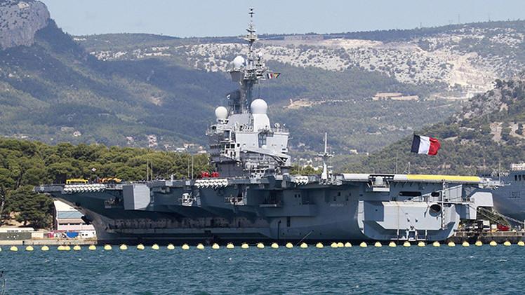 Francia despliega portaaviones contra el Estado Islámico en Irak