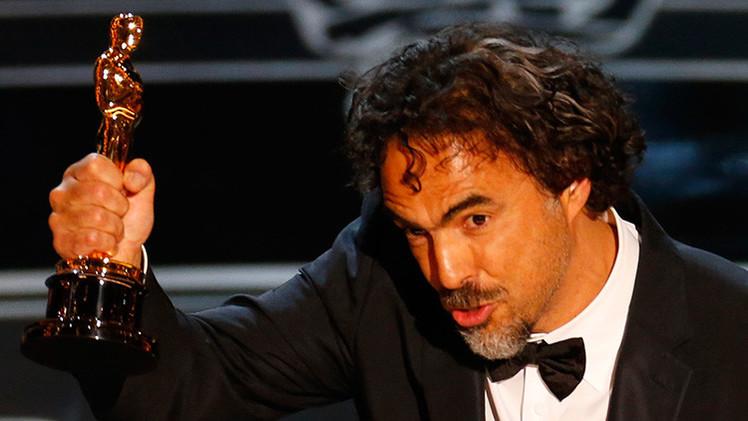 Iñárritu dedicó su 'Oscar' a los mexicanos y rogó por un Gobierno que se merecen
