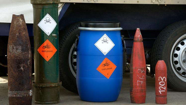 Armas químicas de Libia pueden terminar en manos del Estado Islámico