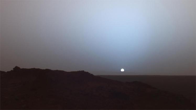 Video: La NASA muestra una increíble puesta de Sol en Marte