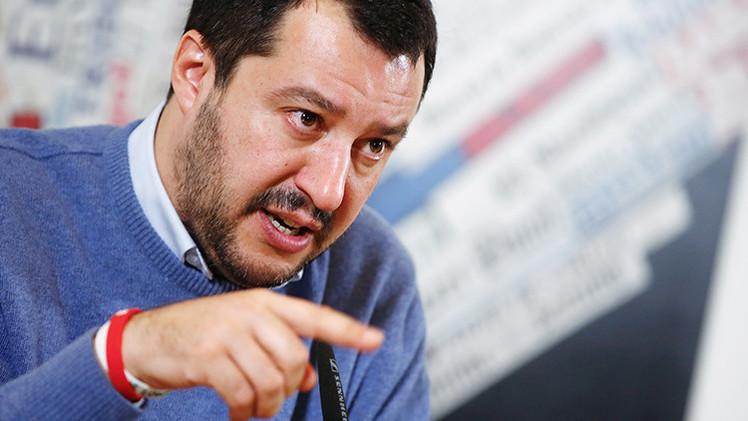 """El euro está muerto"", afirma Matteo Salvini"