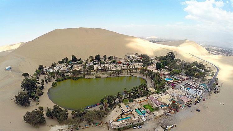 No es un espejismo: Así es una increíble ciudad oasis en Perú