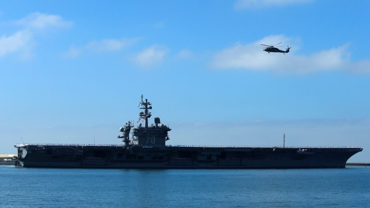 Irán: Podemos hundir portaaviones de EE.UU.
