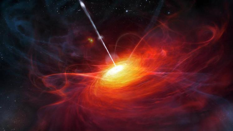 Descubren un agujero negro superpesado 12.000 millones de veces mayor que el Sol