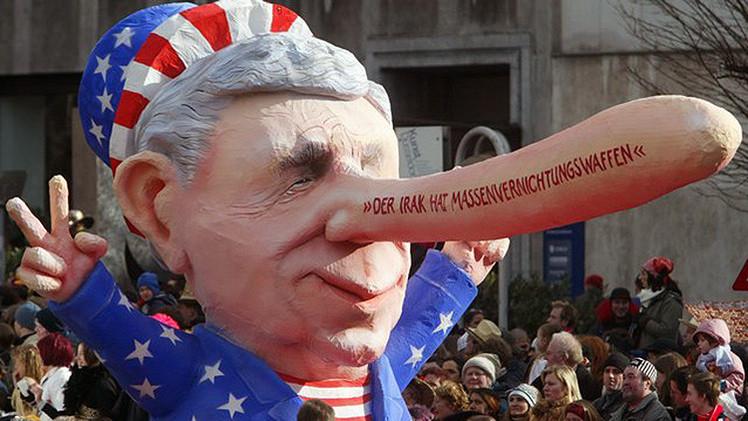 """Politicos propagan """"historias falaces"""" sobre Ucrania olvidando los errores de Irak"""