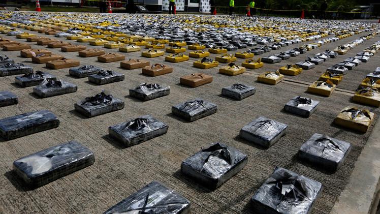 La policia de Colombia encuentra tres toneladas de cocaina