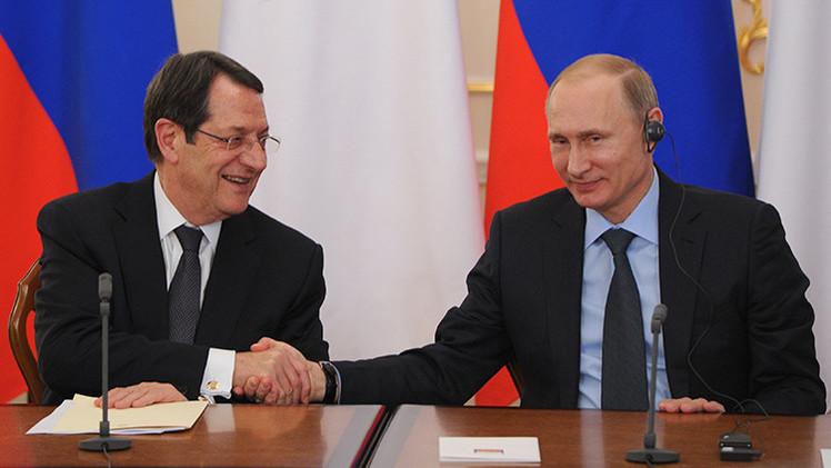 """Presidente de Chipre: """"Putin nunca nos ha puesto en una situación incómoda ante nuestros socios"""""""