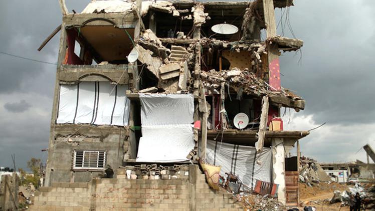 """Oxfam: """"Reconstruir Gaza tardará más de 100 años debido al bloqueo de Israel"""""""