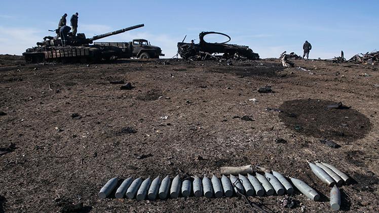 Kiev confirma que recibe armas letales de otros países
