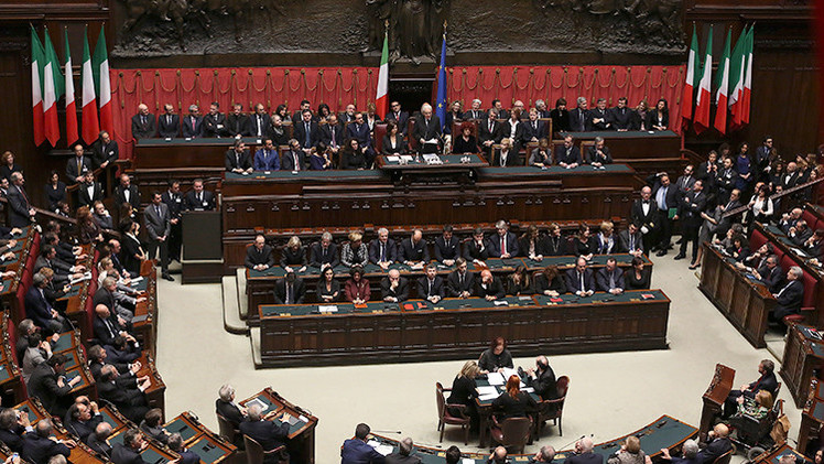 El Parlamento de Italia vota a favor de reconocer el Estado de Palestina