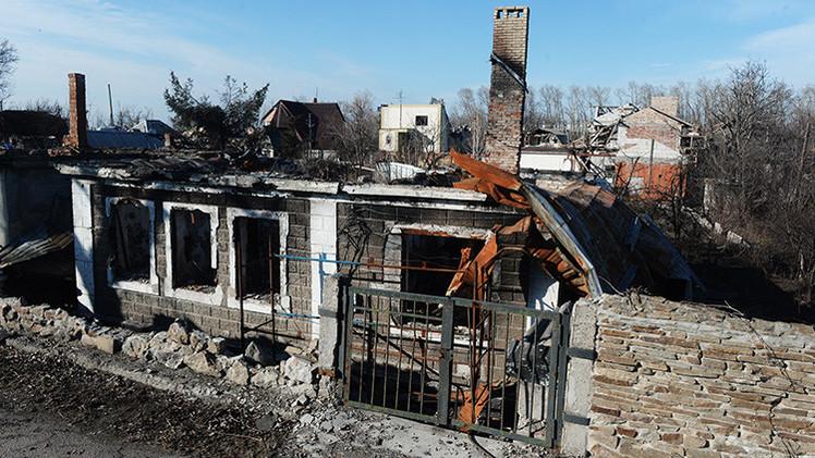 """Ucrania crea con cortes de gas """"una catástrofe humanitaria"""" en Donetsk y Lugansk"""