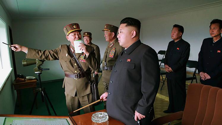 Kim Jong-un llama al Ejército norcoreano a prepararse para una guerra con EE.UU.