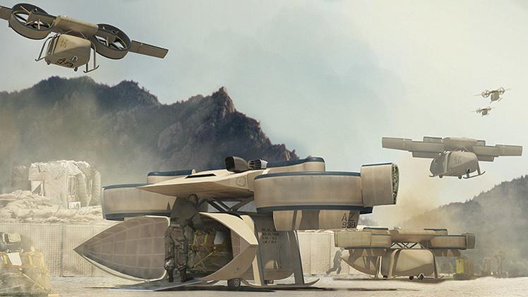 EE.UU. presenta sus drones 'transformer'