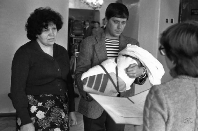 Registro del recién nacido, Novokuznetsk, 1983